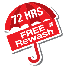 72 HRS Free Wash